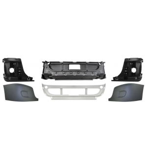 TR074-FRB Bumper without Fog Light Hole for Freightliner Cascadia Trucks