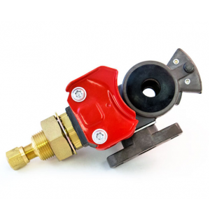 TR035095 Emergency Gladhand with Shut-off Valve