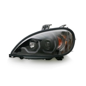 TR202-PFRHL-L Projector Driver Side Headlight with LED Bar for 1996-2017 Freightliner Columbia Trucks