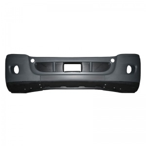 TR574-FRB Black Bumper with Hole for Freightliner Cascadia 2008-2017 Models