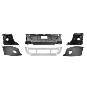 TR073-FRB Bumper with Fog Light Hole for Freightliner Cascadia Trucks