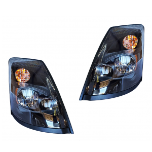 TR466-VLLHL-S LED Headlight Set for 2004-2017 Volvo VN/VNL/VNX Trucks