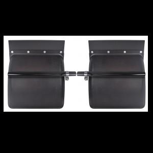 TRQF311 Black Poly Quarter Fenders 24