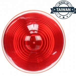 TR56126 LED, Red Beehive, 10 Diode, Marker Clearance Light (Made in Taiwan)