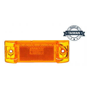 TR56139 LED, Yellow Rectangular, 8 Diode, Marker Clearance Light (Made in Taiwan)