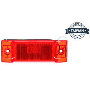 TR56140 LED, Red Rectangular, 8 Diode, Marker Clearance Light (Made in Taiwan)