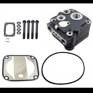 TRK023600 Air Brake Compressor Cylinder Upper Head for BENDIX BA921, DDC S60