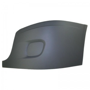 TR067-FRSBO-L Outer Cover w/o Fog Hole for Freightliner Cascadia Bumper- Driver Side
