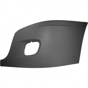 TR071-FRCBC-L Outer Cover with Fog Light Hole for Freightliner Cascadia Bumper- Driver Side